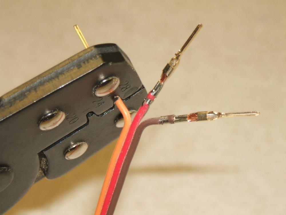 crimp on servo connectors. Black Bedroom Furniture Sets. Home Design Ideas
