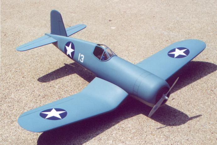 F4U-1 Front           View